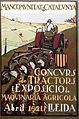 31 Mancomunitat de Catalunya, cartell d'un concurs de tractors, Lleida 1921.jpg