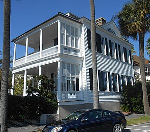 George Chisolm House - The George Chisolm House is at 39 East Battery, Charleston, South Carolina.