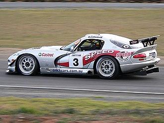 2006 Australian GT Championship - Greg Crick (Dodge Viper GTS ACR) won the championship