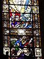 4284.Bunte Bleiglasfenster-Die Bibel in Bildern- Verständlich auch für die nicht Wort und Schrift lesen könnende Bevölkerung vergangener Zeiten-Saint Thegonnec.JPG