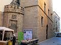 445 Palau Oliver de Boteller i font Gòtica (Tortosa), cantonada c. Ciutat - Jaume Ferran.JPG