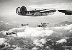 460th Bombardment Group B-24 Liberators Formation.jpg