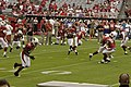 49ers at AzCardinals 2009 warmups.jpg