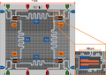 4 Qubit Chip, 10.1103.PhysRevX.5.021027 (A. Wallraff, 2015).png