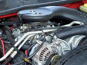 Chrysler LA engine - A 5.2L Magnum V8 as installed in a 1994 Jeep Grand Cherokee
