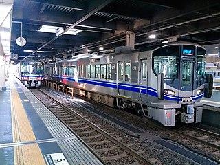 Hokuriku Main Line railway line in Japan