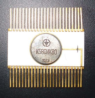 Intel 8080 - Image: 580IK80