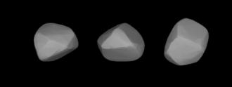 628 Christine - A three-dimensional model of 628 Christine based on its light curve