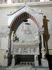 Monumento funebre Guglielmo Longhi
