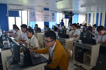 7th Waray Wikipedia Edit-a-thon 19.JPG