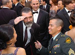 82nd Academy Awards%2C Antonio Banderas - army mil-66461-2010-03-09-180312