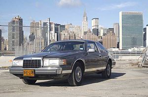 Lincoln Continental Mark VII - 1989 Lincoln Mark VII