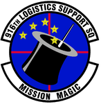 916 Logistics Support Sq (later 916 Maintenance Operations Flt) emblem.png