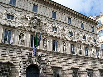 Galleria Spada - Image: 938Roma Palazzo Spada