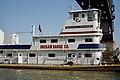 98k079 Michael J. Grainger upbound at L&I Bridge on Ohio River at Louisville (6559777303).jpg