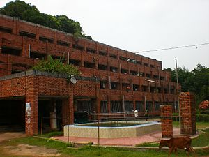 University of Chittagong - Image: A. F. Rahman Hall at CU 09