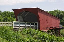 A449, Roseman Covered Bridge, Madison County, Iowa, USA, 2016.jpg