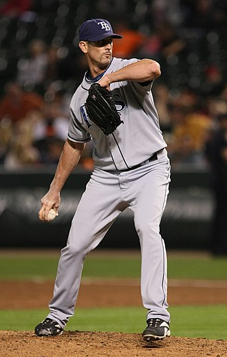 Grant Balfour - Balfour with the Tampa Bay Rays