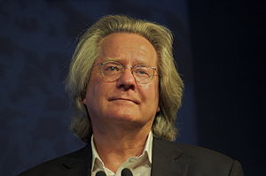 English: AC Grayling at the Edinburgh Book Fes...