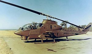Aliens (film) - The AH-1 Cobra used in Vietnam served as inspiration for the design of the dropship