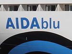 AIDAblu Name Tallinn 21 August 2012.JPG