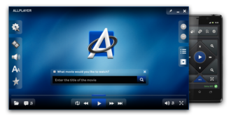 ALLPlayer - Image: ALL Player free video player