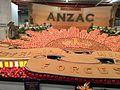 ANZAC centenary commemorative display of fruit and vegetables from the Darling Downs, at Ekka, Brisbane, 2015.jpg