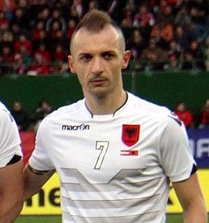 Ansi Agolli Albanian footballer