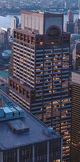 Axa Equitable Center Office skyscraper in Manhattan, New York