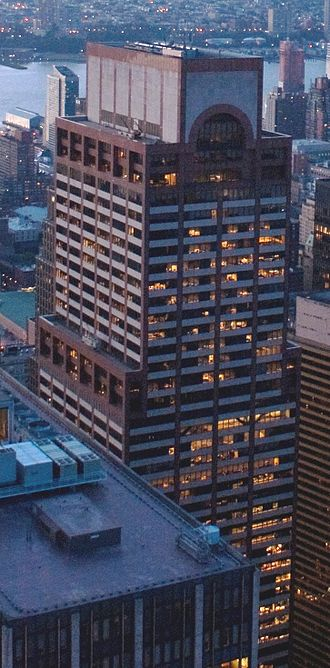 Willkie Farr & Gallagher - Image: AXA Center from GE Building, cropped
