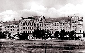 Franz Joseph University - The building of the Faculty of Law around 1930 (Szeged)