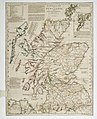 A commercial map of Scotland with the roads, stages and distances RMG K0903.jpg