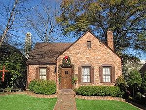 Peachtree Park - A house on Highland Drive