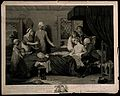 A man recuperating in bed at a receiving-house of the Royal Wellcome V0006846.jpg