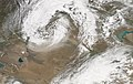 A massive dust storm blew through central Asia on May 7, 2007.jpg