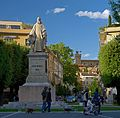 A statue of Guido Monaco on Piazza of Guido Monaco in Arezzo, Italy.jpg