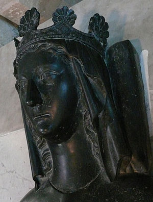 Marie of Brienne - Image: Abbaye de Maubuisson Marie Brienne