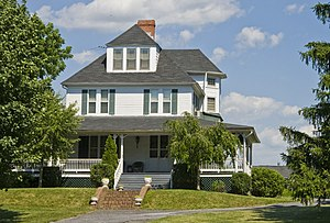 National Register of Historic Places listings in Berkeley County, West Virginia - Image: Abell Kilbourn House Martinsburg WV