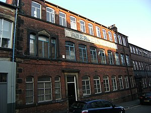 Listed buildings in Sheffield City Centre - Image: Aberdeen Works