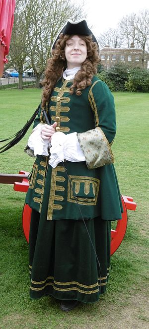 Abigail Masham, Baroness Masham - Abigail Masham at the height of her powers, c.1710, as portrayed by a costumed interpreter at Hampton Court Palace in 2015.
