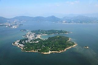 Peng Chau island in Hong Kong