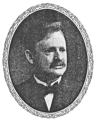 United Wireless Telegraph Company - Abraham White, founder and first president of United Wireless (1906)