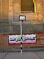 Abu Reyahan al-Biruni Middle School - Nishapur-wall painting-Basketball field 002.JPG