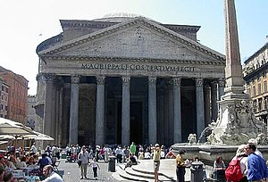 History of materials science - The Pantheon in Rome.