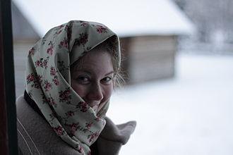 Ukrainian Cultural Heritage Village - An actor-interpreter from the Village