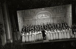 Orfeón Donostiarra - Performance of Orfeón Donostiarra in 1941