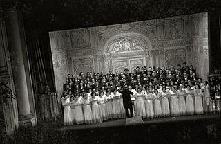 concert choir based in San Sebastián, Basque Country, Spain