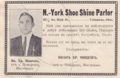 Ad for New York Shoe Shine Parlor in Columbus, Ohio.png