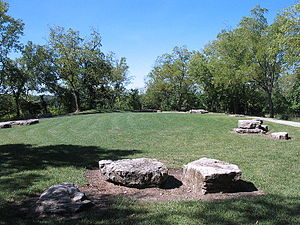 Zion (Latter Day Saints) - Tower Hill at Adam-ondi-Ahman, Missouri USA