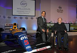 Frank Williams (rechts)